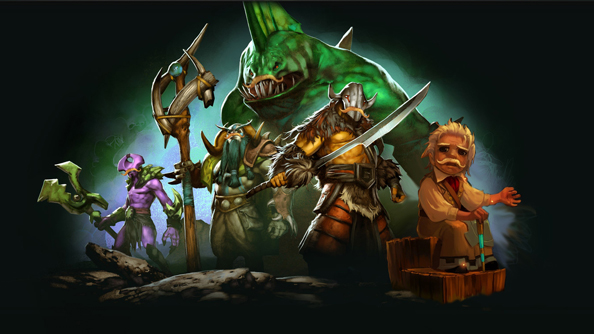 Dota 2 gets Bastion announcer pack, Polycount contest winners items, and a patch