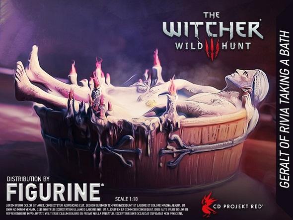 Bathtime Geralt