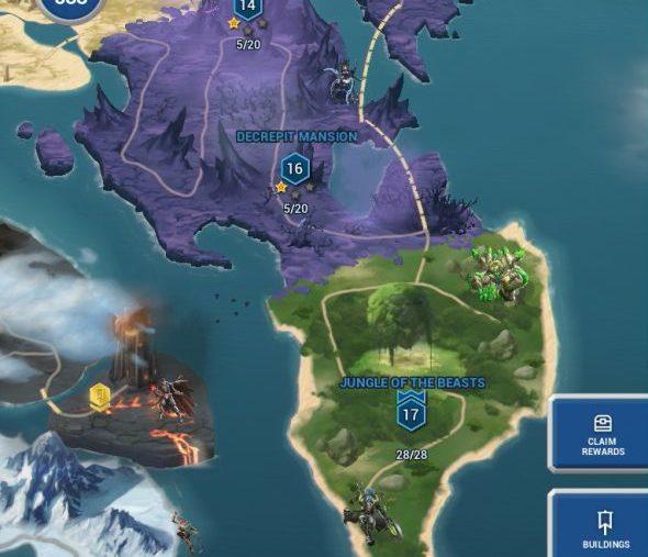 Battle Breakers map