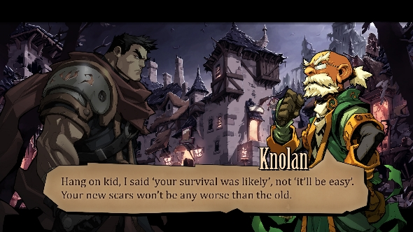 Battle Chasers: Nightwar dialogue