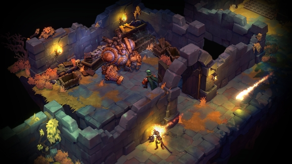 Battle Chasers: Nightwar dungeon