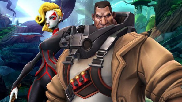 Battleborn's Ghalt and Deande revealed, two story-central characters
