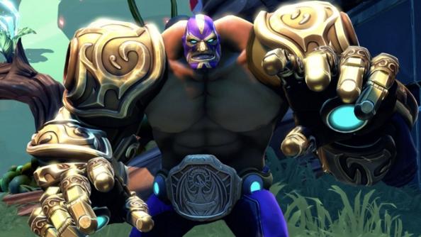 Battleborn characters El Dragon