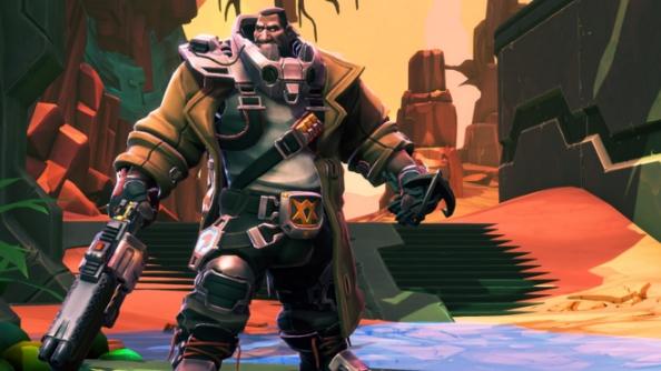 Battleborn characters Ghalt