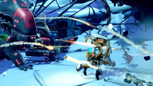 Battleborn characters ISIC