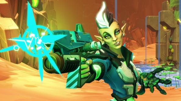 Battleborn characters Melka