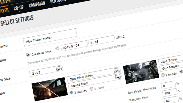 Bespoke, player tailored matches coming to Battlefield 3