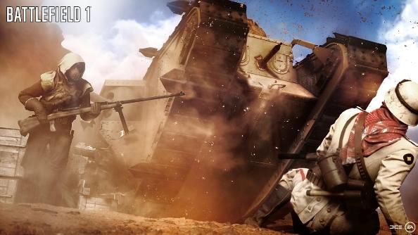 E3 2016 Battlefield 1