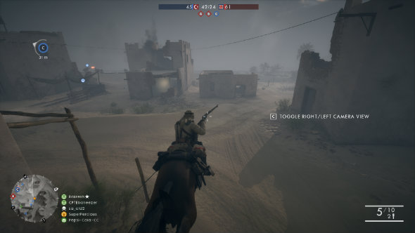 Battlefield 1 Cavalry class