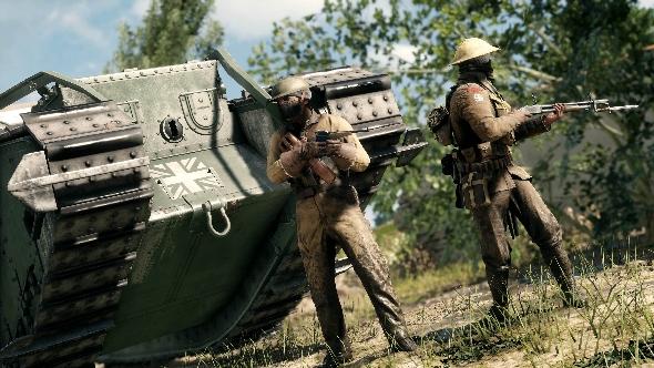 Battlefield 1 Tanker class
