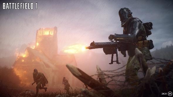 Battlefield 1 big guns
