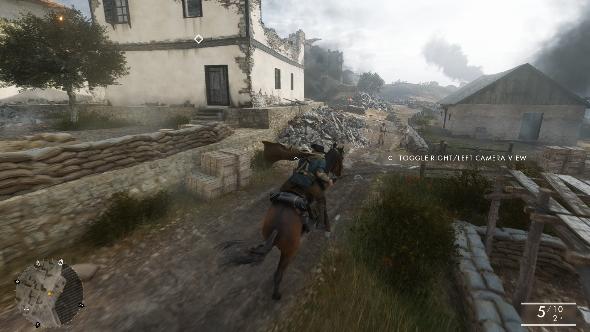 Battlefield 1 campaign cavalry