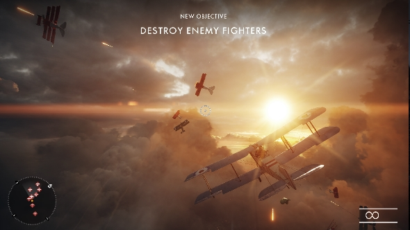 Battlefield 1 campaign plane