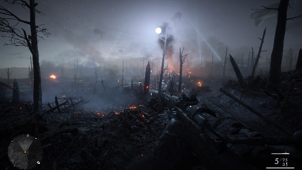 Battlefield 1 campaign trenches