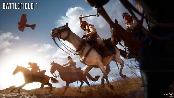 Battlefield 1 cavalry