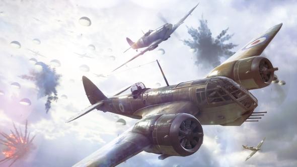 Battlefield V bomber