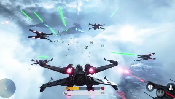 Star Wars Battlefront Fighter Squadron