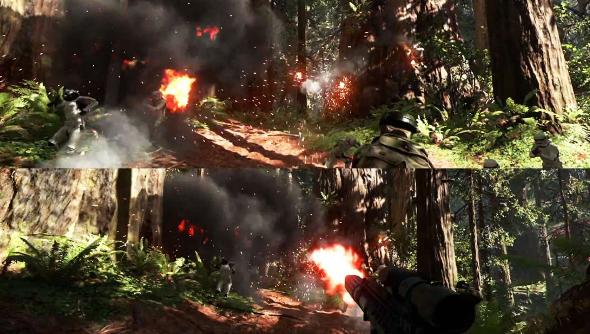 Battlefront split screen