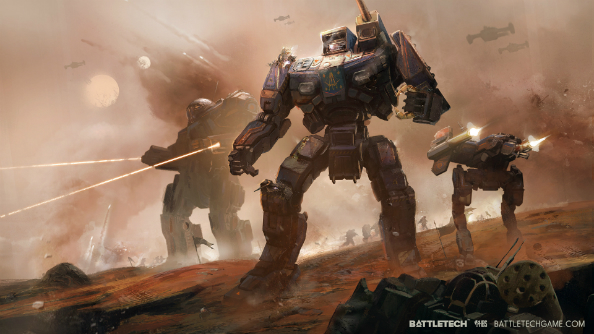 Battletech cinematic trailer and gameplay video released for all