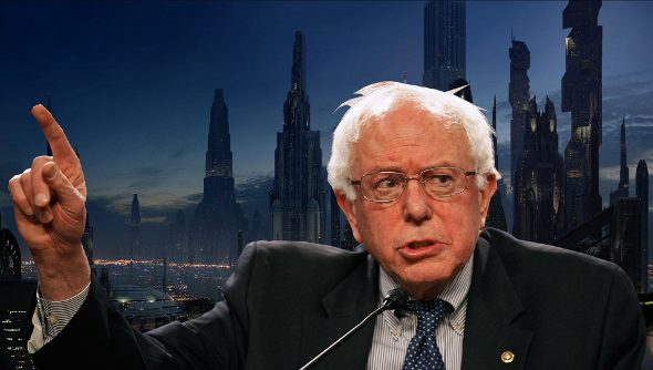 We put Bernie Sanders in charge of a galactic superpower, and it worked out just fine