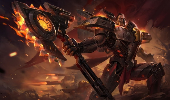 Best LoL skins Dreadnova Darius
