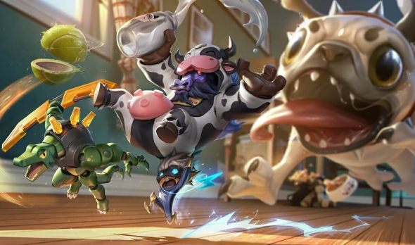 Best LoL skins Moo Cow Alistar