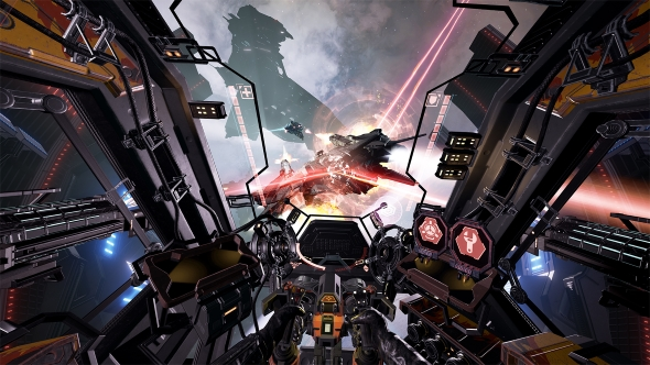 Best space games Eve Valkyrie