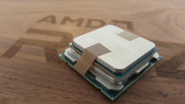 Big Ryzen CPU (artist's impression)