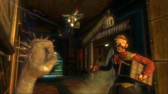BioShock body horror Winter Blast