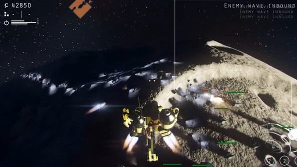 Blackspace lets you blow up an asteroid: now launched on Kickstarter
