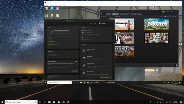 Blade Shadow desktop