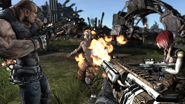 Borderlands multiplayer steamworks gamespy