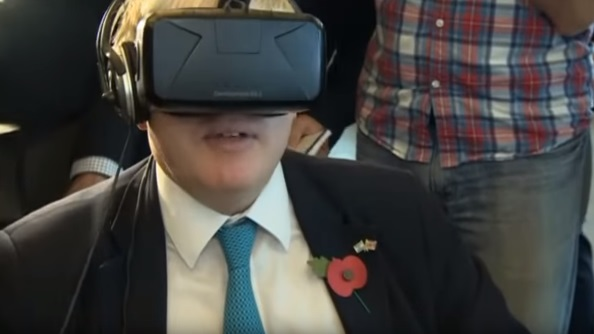Boris Johnson VR