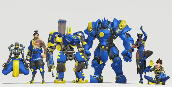 Boston Uprising skins