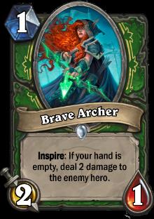 Brave Archer card