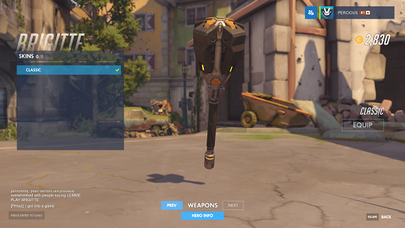 Overwatch Brigitte reveal weapons flail