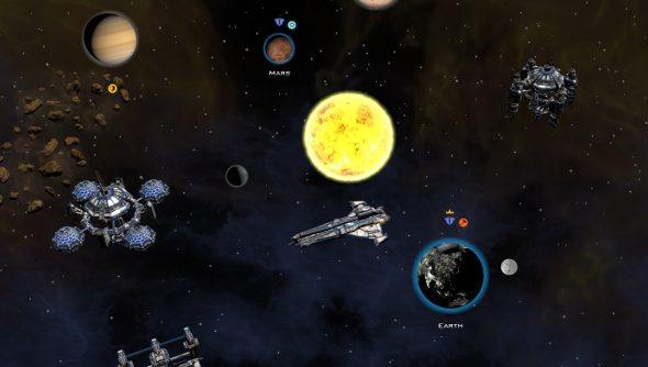Building Galactic Civilizations III in Early Access
