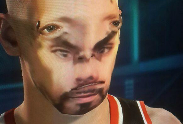 NBA 2K face scan
