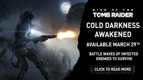 Rise of the Tomb Raider's last DLC, Cold Darkness Awakened, releases March 29