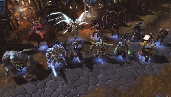 Heroes of the Storm line up