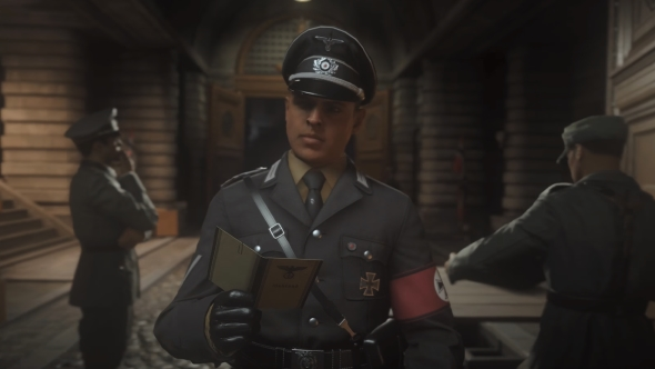 Call of Duty WW2 identification papers