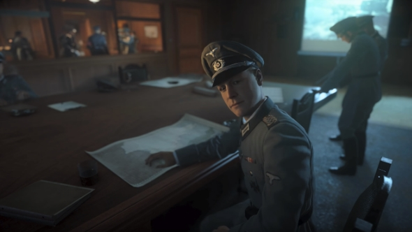 Call of Duty WW2 officers