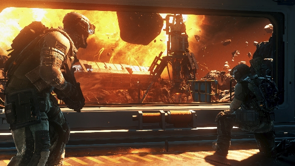 Call of Duty: Infinite Warfare campaign space