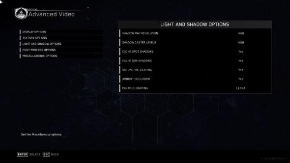 Call of Duty: Infinite Warfare PC graphics settings