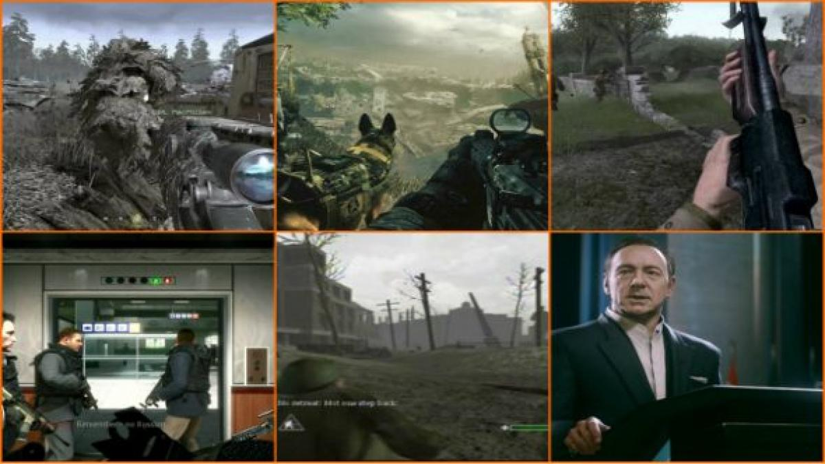 All 13 Call Of Duty Campaigns Ranked From Worst To Best Pcgamesn