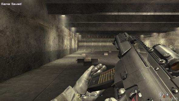 Call of Duty 4 Modern Warfare rifle range