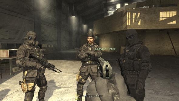 Call of Duty 4 Modern Warfare squad