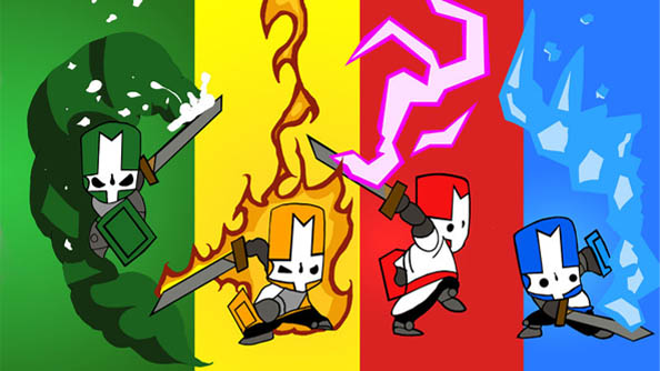 Castle Crashers is smashing its way towards a Steam release