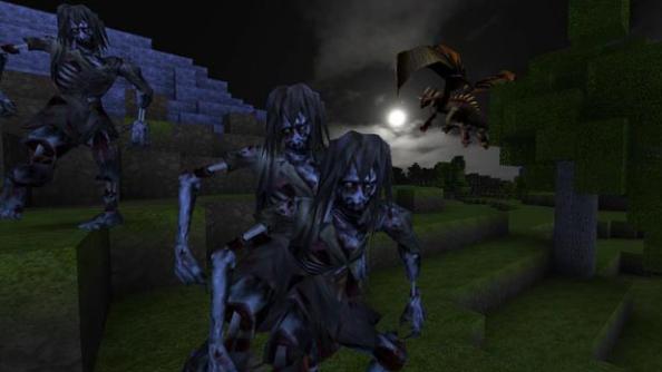 CastleMiner Z zombies