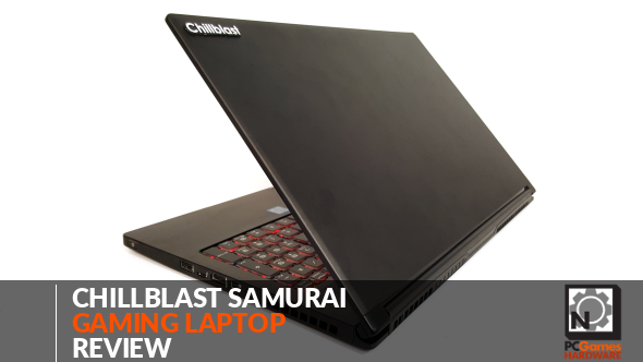 Chillblast Samurai gaming laptop review